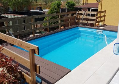 piscina nº 3 instalada superficie